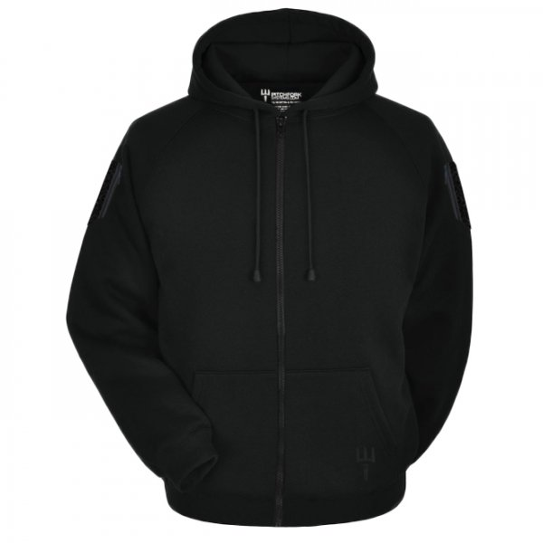 Pitchfork Tactical Hoodie Zippered - Black - M