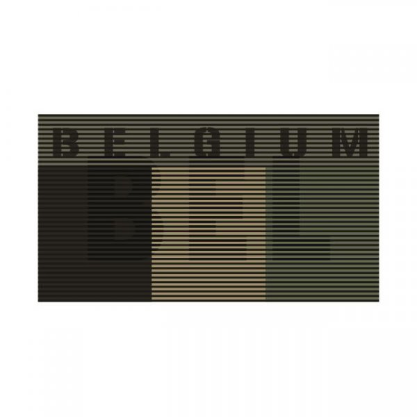 Pitchfork Belgium IR Dual Patch - Ranger Green